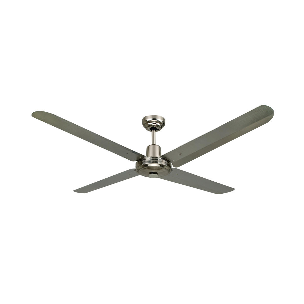 how to clean stainless steel fans