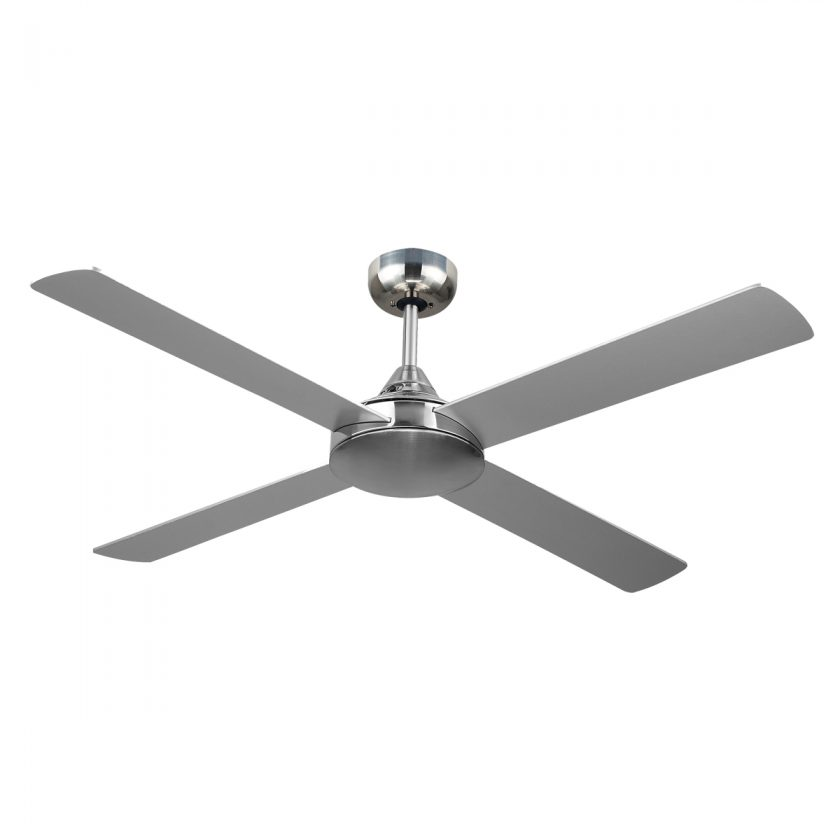 Revolve 48 Inch Ceiling Fan Brushed Chrome