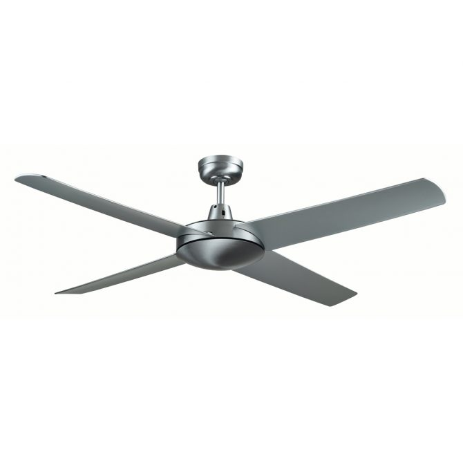 Genesis 52'' Series 2 Brushed Aluminum Ceiling Fan - GEN52B2