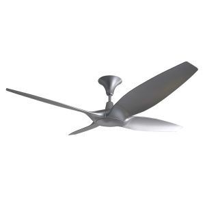 Designer 60 inch DC Ceiling Fan in Silver
