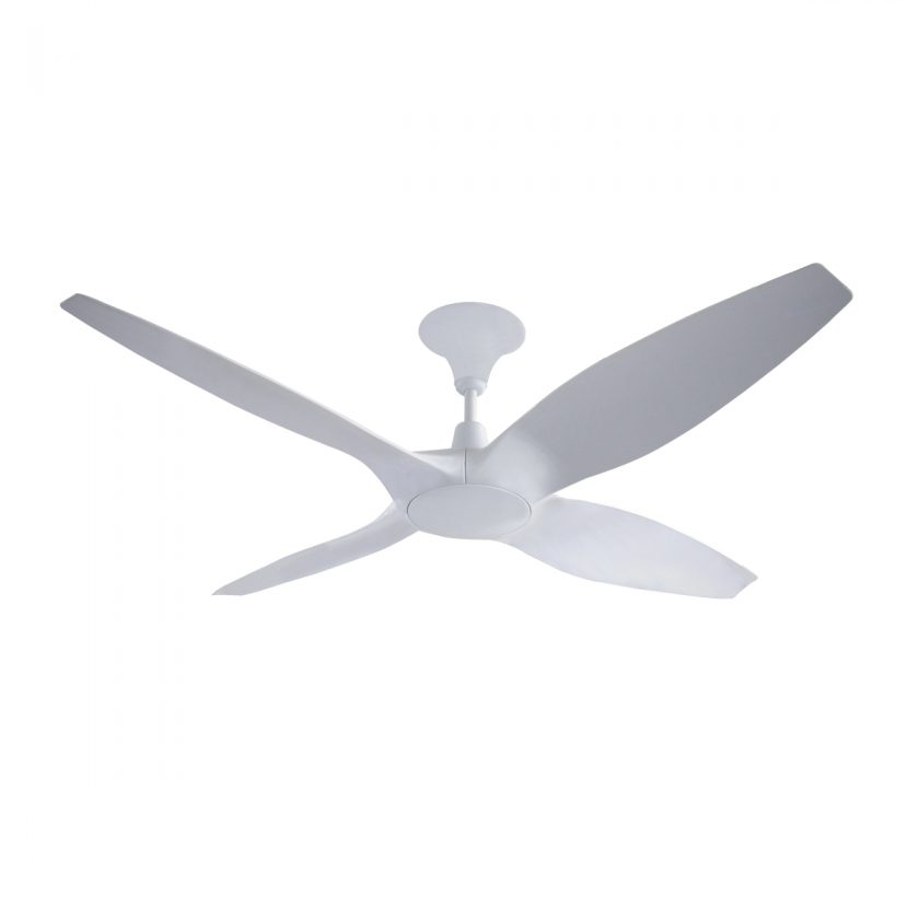 Designer 4 blade 60 inch 1524mm dc ceiling fan with remote designer 60 inch dc ceiling fan in white mozeypictures