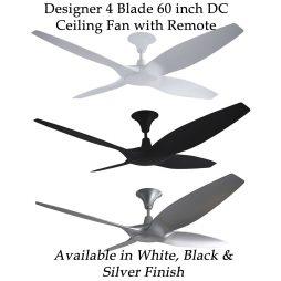 Ceiling fan bundle deals ceiling fan bargains designer 60 inch dc ceiling fan aloadofball Image collections
