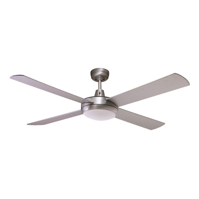 Rotor 52'' LED Light Silver Ceiling Fan - ROTOR52SIL