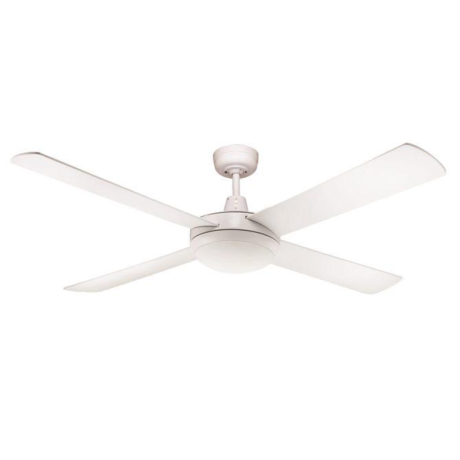 Rotor 52'' LED Light White Ceiling Fan - ROTOR52WH