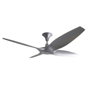 Designer 60 inch DC Ceiling Fan in Silver